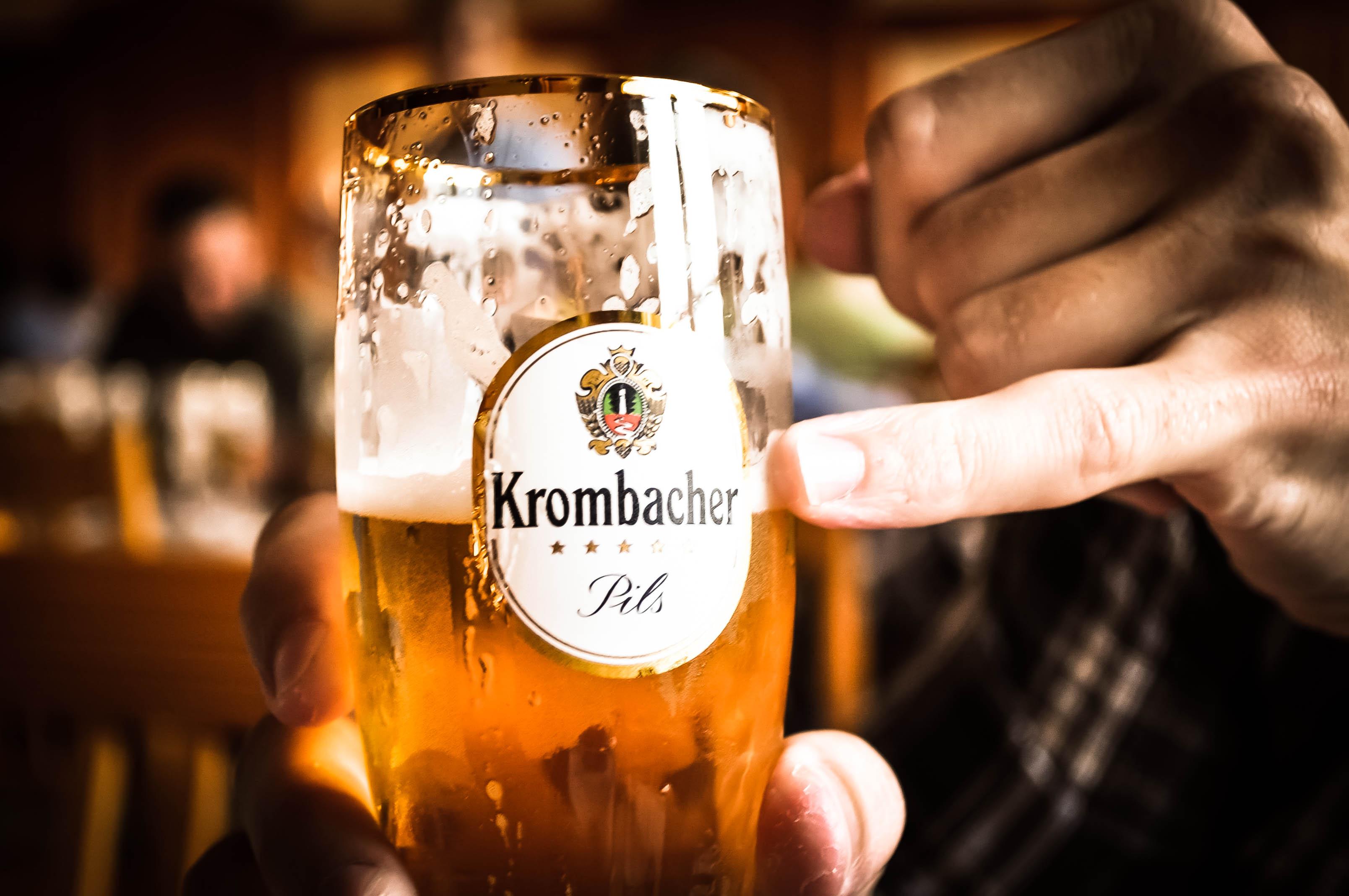 Krombacher Brewery Tour